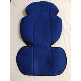 Estofado Para Smart Baby Confort Original Azul.