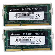 Kit 16gb (2x8gb) Corsair 1333 Mhz Apple Imac Macbook Pro Mac
