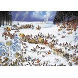 Rompecabezas Heye De 2000 Piezas: Loup Invierno De Napoleon