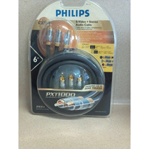 Cable Profesional S- Video Stereo Audio Mod Pxt1000 Philips