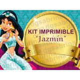 Kit Imprimible Princesa Jasmin Jazmin Candybar Golsinas