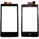 Tela Touch Screen + Flex Power Volume Nokia Lumia 820 N820