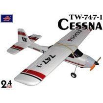 Aeromodelo Aviao Controle Remoto Cessna 747 4 Canais Rtr