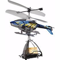 Helicóptero Controle Remoto Carrega E Solta Cargas! C/ Gyro!