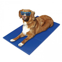 Tapete Gelado Refrescante Pequeno 50x40 - Caes Pets Mat Cool