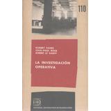 Libro De Administración : Investigación Operativa - Vs Autor