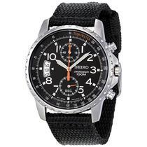 Relógio Seiko Militar Snn079p2 Sport Cronografo
