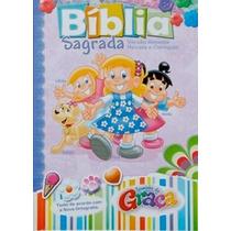 Bíblia Da Turminha Da Graça Meninas Capa Almofadada