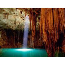 Papel De Parede Paisagens Cavernas Natureza Fosco Luxo - M²