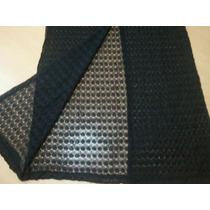Vestido Largo Negro Translucido Forrado, Bretelc/ Tajo Atras
