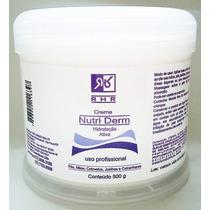 Creme Hidratante Nutri Derm 500g - Com Uréia, Sem. De Uva +e