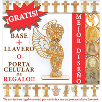 Figura Ángel De La Guarda 50 Cm Centros De Mesa Bautizo
