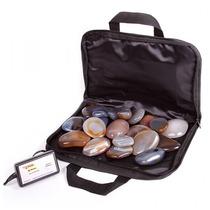 Kit De Pedras Quentes+ Bolsa Aquecedora 220 Volts