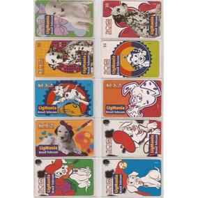 Cartão Telefonico Série 102 Dálmatas Com 50 Cartões