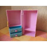 Barbie Accesorios Juguete Baul Ropero Y Tocador 2006