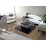 Mesa Ratona Minimalista Simple Y Elegante 100x100 Imperdible