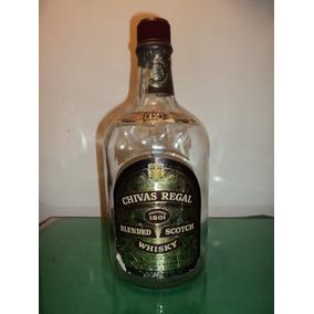 Botellon Vacio De Whisky Chivas Regal 1750 L Original