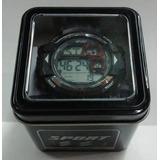 Reloj Deportivo Digital Sumergible Luz Alarma Cronometro