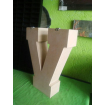 Cajas De Letras Con Tapa Decorar, Pintar , Regalos 50x40x10