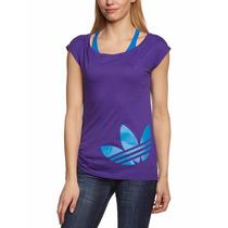 Camiseta Adidas T Shirt Big Trefoil Tee 100% Original