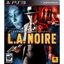 Jogo Ps3 - Game Original - La Noire