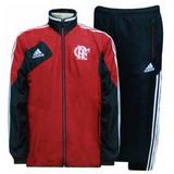 Agasalho Flamengo adidas Rubro Negro