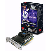Placa De Video Sapphire Radeon Hd 6770 1gb Gddr5