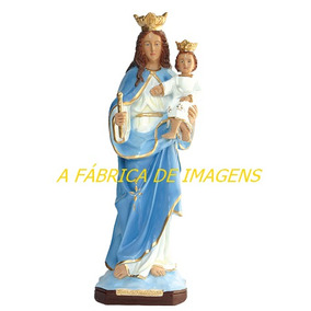 Escultura Nossa Senhora Auxiliadora Imagem 60c Estatua Gesso