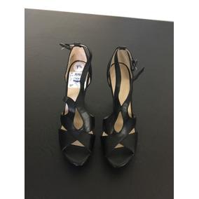 Zapatos Nine West Negro Mujer Con Taco Alto
