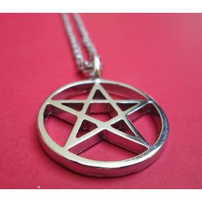 Colar Pentagrama Proteção Wicca