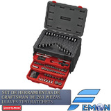 Set De Herramientas Craftsman De 263 Pc, Laves Tipo Ratchets