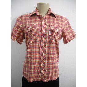 Blusa Camisa Ustop Xadrez Tam 01 (p) Ótimo Estado