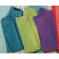 Vendo Pantalones Jeans Pitillo De Colores Goccos Y Oxus