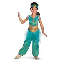 Disfraz Niño Disfrazar Aladino Jasmine Sparkle Deluxe Traje