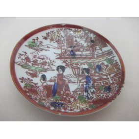 B. Antigo - Pires Ou Pratinho De Parede Em Porcelana Chinesa