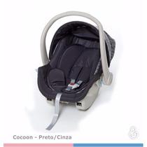 Bebê Conforto Cocoon Preto E Cinza Off 0 A 13kg - Galzerano