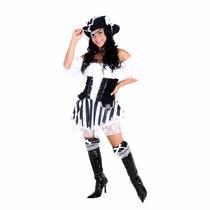 Fantasia Pirata Black Heat Girls Sulamericana