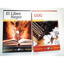 Giovanni Papini Gog + El Libro Negro Paquete 2 Libros