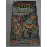 Las Tortugas Ninja Vol 2 Turtles Vhs Dibujos Animados Avh