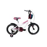 Bicicleta Niña Aro 16 Monster High Draculaura Bianchi