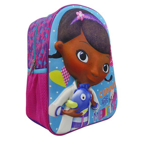Mochila 3d Kinder Preescolar Niña Doctora Juguete Ruz 103449