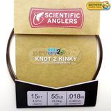 Leader Titanio Scientific Anglers Cable Líder Dorado 55 Lbs