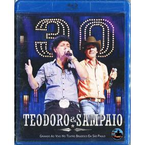 Blu-ray Teodoro E Sampaio - 30 Anos Ao Vivo ( Lacrado)