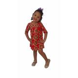 Vestido Bello Casual Niña Vestidos Niñas Pana H2381 Rym