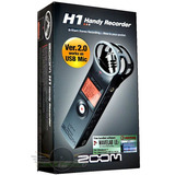 Grabadora Portatil Zoom H1 Version2.0 Mic.sd2gb - En Palermo