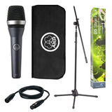 Kit Akg Stage Pack D5 Paral, Mic, Cable Xlr, Clamp Y Estuche