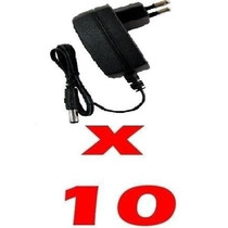 Kit 10 Fonte Estabilizada Chaveada 110/220v P/ Cftv 12v 1,5a