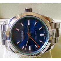 Relógio Eta A2836 Modelo Milgauss Dial Azul Baselworld 2014