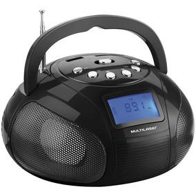 Mini Rádio Multilaser Boombox Usb/fm/sd 10w Rms