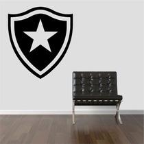Adesivo Decorativo Parede Sala Escudo Time Botafogo Fogão